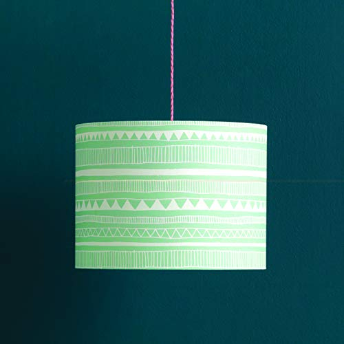 Needcraft DIY Lampshade Kit – 40cm Diameter Easy Drum Lamp Shade Making Kit for Pendants, Floor, Desk & Table Lamps… 4