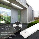 Airand LED Tube Light, 120 cm 4ft 36W LED IP66 Luminaire Workshop Light 4000K Waterproof Ceiling Light Natural White LED… 23
