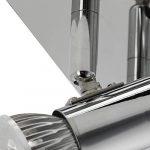 Frideko Modern Ceiling Spots Light - Square Chrome 4 Way Adjustable GU10 Ceiling Spotlight Adjustable LED Pendant… 23