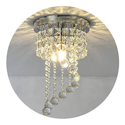 Modern LED Bulb Ceiling Light Pendant Fixture Lighting Crystal Chandelier 3