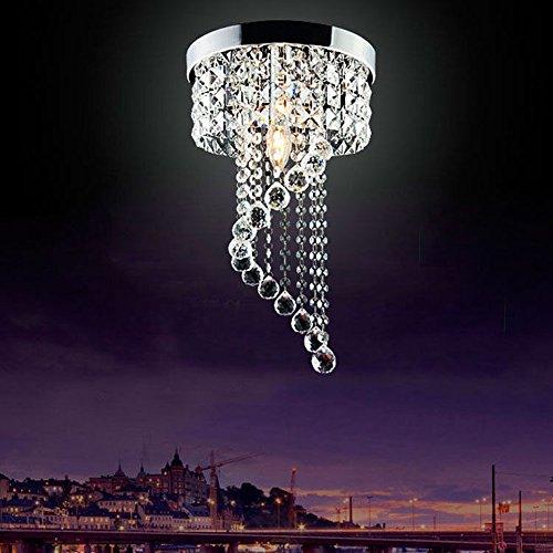 Modern LED Bulb Ceiling Light Pendant Fixture Lighting Crystal Chandelier 1