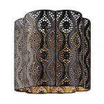 Azalea Chrome Pendant Interior Moroccan Themed Metal Ceiling Light Shade Easy Fit Pendant (Azalea) 7