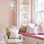 Surpars House Mini Style Crystal Chandelier Pendant Light, White,1-Light 21