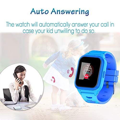 2019 Newest Clearance Kids Smart Watch Digital Camera Watch with Emergency Call GPS Positioning Remote Camera Waterproof… 8