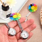 3 Pieces Sunflower Nurse Fob Watch, Hanging Doctor Pocket Watch with Fixed Clip Pin Brooch for Women Doctor Nurse… 21