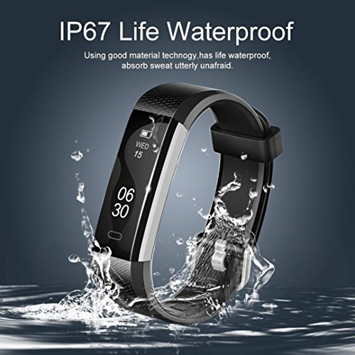 ALeis 2018 Fitness Tracker, Waterproof Activity Tracker with Pedometer Step Counter Watch and Sleep Monitor Calorie… 8