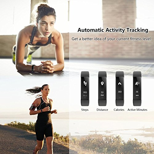ALeis 2018 Fitness Tracker, Waterproof Activity Tracker with Pedometer Step Counter Watch and Sleep Monitor Calorie… 9