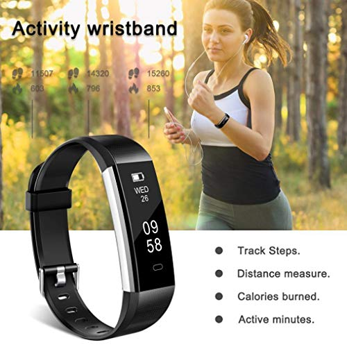 ALeis 2018 Fitness Tracker, Waterproof Activity Tracker with Pedometer Step Counter Watch and Sleep Monitor Calorie… 10