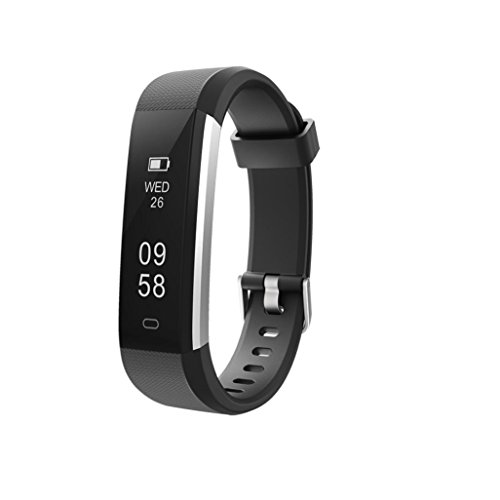 ALeis 2018 Fitness Tracker, Waterproof Activity Tracker with Pedometer Step Counter Watch and Sleep Monitor Calorie… 1