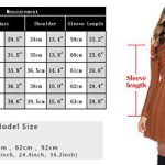 Abollria Womens Turtle Neck Long Sleeve Bodycon Cable Twist Knitted Jumper Knitwear Sweater Dress 19