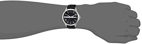 Armani Exchange Men's Analog Quartz Watch with Leather Strap AX2101 3