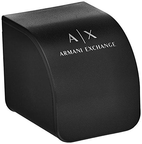 Armani Exchange Men's Analog Quartz Watch with Leather Strap AX2101 4