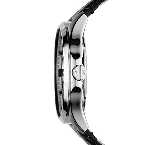 Armani Exchange Men's Analog Quartz Watch with Leather Strap AX2101 6