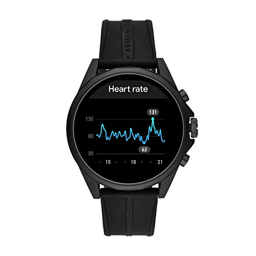 Armani Exchange Men's Touchscreen Connected Smartwatch 4