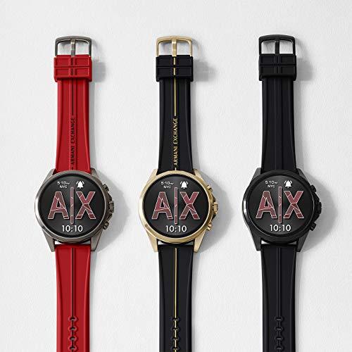 Armani Exchange Men's Touchscreen Connected Smartwatch 6