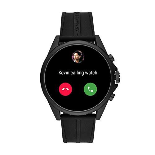 Armani Exchange Men's Touchscreen Connected Smartwatch 8