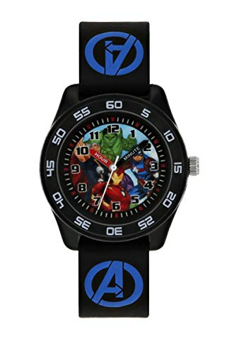 Avengers Boys Analogue Quartz Watch with Rubber Strap AVG9007 1