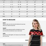 Blooming Jelly Women's Long Sleeve Hoodie Pullover Sweatshirt Patchwork Striped Jumper with Kanga Pocket Top 16