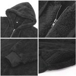 Bwiv Women's Baggy Fluffy Pullover Hoodie with 1/4 Zipper and Drawstring for Winter Ladies Long Sleeves Sweatshirt Soft… 22