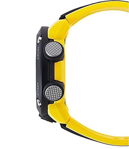 CASIO Mens Analogue-Digital Quartz Watch with Resin Strap GA-2000-1A9ER 3