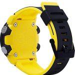 CASIO Mens Analogue-Digital Quartz Watch with Resin Strap GA-2000-1A9ER 17