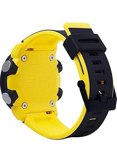 CASIO Mens Analogue-Digital Quartz Watch with Resin Strap GA-2000-1A9ER 4