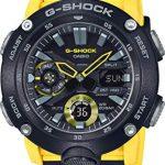 CASIO Mens Analogue-Digital Quartz Watch with Resin Strap GA-2000-1A9ER 15