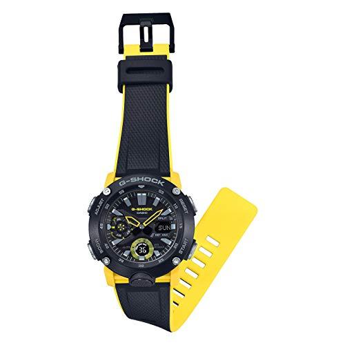 CASIO Mens Analogue-Digital Quartz Watch with Resin Strap GA-2000-1A9ER 5