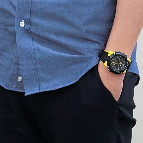 CASIO Mens Analogue-Digital Quartz Watch with Resin Strap GA-2000-1A9ER 6