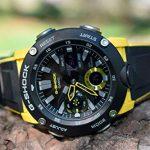 CASIO Mens Analogue-Digital Quartz Watch with Resin Strap GA-2000-1A9ER 20