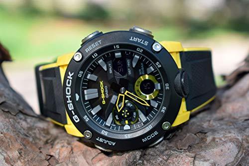 CASIO Mens Analogue-Digital Quartz Watch with Resin Strap GA-2000-1A9ER 7