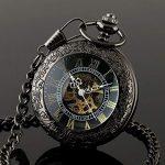 CY-Buity Cristoferv Pocket Watch Skull Head Cool Unique Vintage Antique Pendant Round Shape Tools*1 16