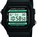 Casio Classic Men's Watch in Resin/Stainless Steel with Daily Alarm and Automatic Calendar - Water Resistant 17