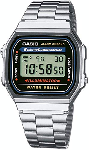 Casio Collection Unisex Adults Watch A168WA 1