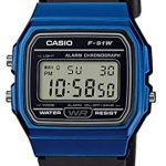 Casio Unisex Watch in Resin/Acrylic Glass with Date Display and LED Light - Water Resistance & Alarm 18