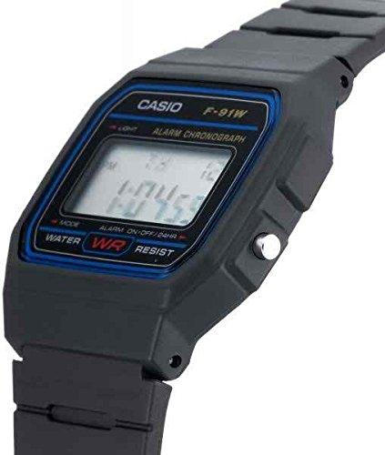 Casio Collection Unisex Digital Watch F-91W 3