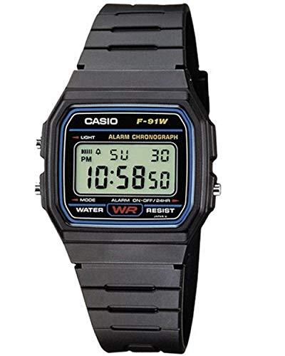 Casio Collection Unisex Digital Watch F-91W 1