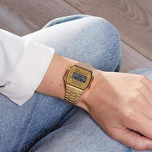 Casio Collection Unisex Adults Watch A168WG 3