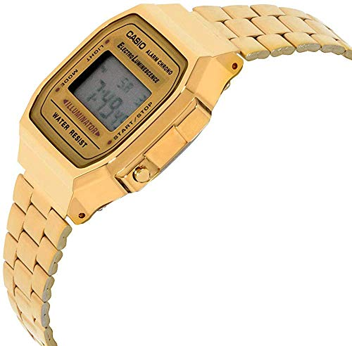 Casio Collection Unisex Adults Watch A168WG 4