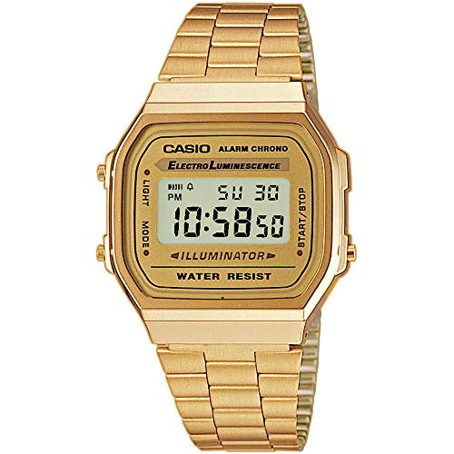 Casio Collection Unisex Adults Watch A168WG 1