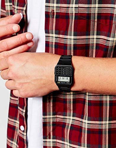 Casio Unisex Digital Watch with Resin Strap CA-53W-1ER 7