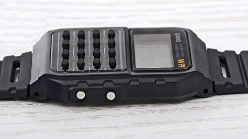Casio Unisex Digital Watch with Resin Strap CA-53W-1ER 8