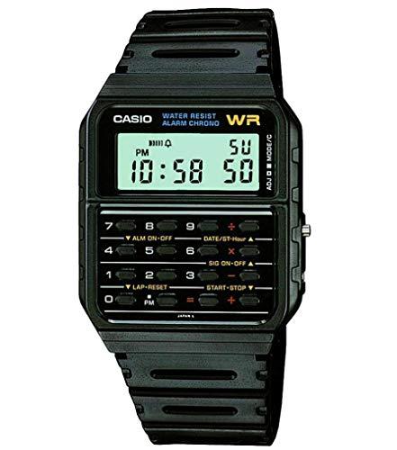Casio Unisex Digital Watch with Resin Strap CA-53W-1ER 1