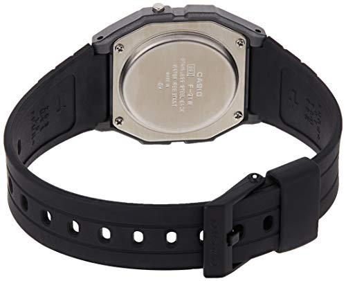 Casio Unisex Watch in Resin/Acrylic Glass with Date Display and LED Light - Water Resistance & Alarm 3