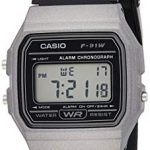 Casio Unisex Watch in Resin/Acrylic Glass with Date Display and LED Light - Water Resistance & Alarm 13