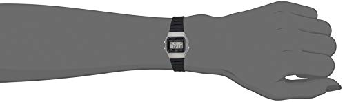 Casio Unisex Watch in Resin/Acrylic Glass with Date Display and LED Light - Water Resistance & Alarm 5