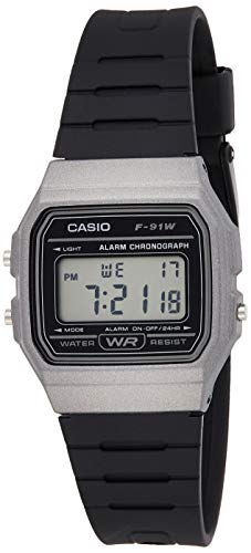 Casio Unisex Watch in Resin/Acrylic Glass with Date Display and LED Light - Water Resistance & Alarm 1