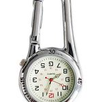 Clip On Outdoor Hook Watches Quartz Clip Carabiner Watches Come with Extra Battery 19