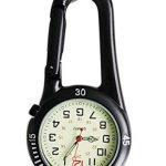 Clip On Outdoor Hook Watches Quartz Clip Carabiner Watches Come with Extra Battery 17