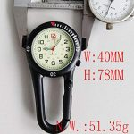 Clip On Outdoor Hook Watches Quartz Clip Carabiner Watches Come with Extra Battery 21